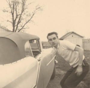 Lanford with car