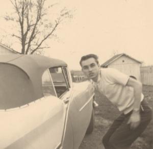 Lanford with car