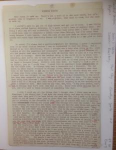 LW manuscript page